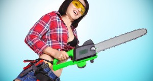 motherhood is like juggling chainsaws