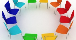 group of chairs costs round