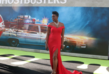 LOS ANGELES - JUL 9:  Leslie Jones at the Ghostbusters Premiere at the TCL Chinese Theater IMAX on July 9, 2016 in Los Angeles, CA